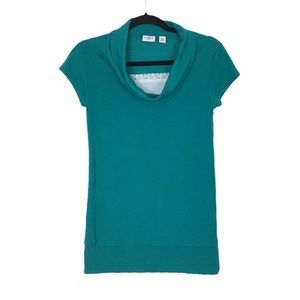 SALE 3/25.00 CATO girls cowl neck T-shirt